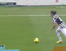 Cagliari vs Juventus 1 0 Mauricio Pinilla Goal 12012014