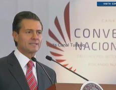Peña Nieto presume crecimiento de la economía de México