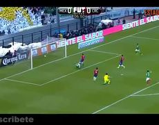 Golazo de Chicharito Hernandez - México vs Costa Rica 2017 1-0