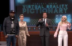 Virtual Reality Pictionary with Scarlett Johansson