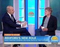 TODAY - Robert Redford On Netflix Movie 'The Discovery,' Mysteries Of The Afterlife