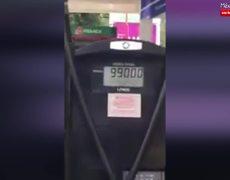 Exhiben a despachador de gasolina por Robo