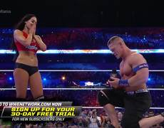 John Cena proposes to Nikki Bella: WrestleMania 33