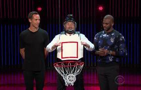 Human Basketball Hoop w/ Steve Nash & Chris Paul