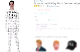 Amazon under fire for controversial 'border wall' costume