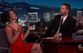 Jimmy Kimmel - Jenny Slate Reveals Worst Vacation