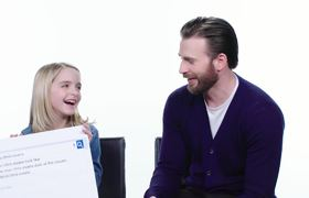 Chris Evans Answers Web's Most Searched Questions