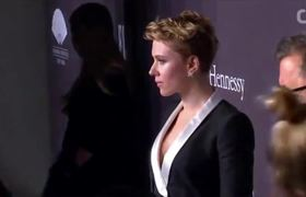 Scarlett Johansson And Estranged Husband Attend Event