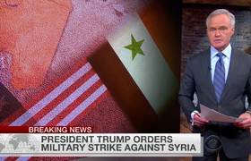 U.S. launches cruise missile strike against Syria