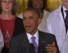 President Obama the US Will Not run and Hide From Ebola