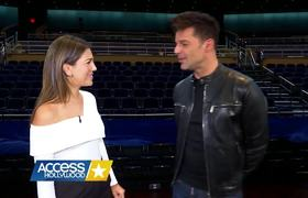 Ricky Martin Talks Las Vegas Show