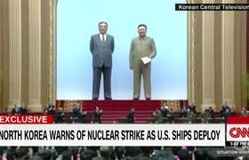 Grupo de barcos militares estadounidense se dirige hacia Corea del Norte