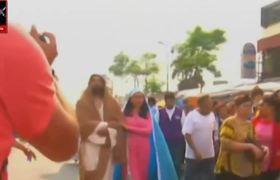 La Pasion de Cristo en Iztapalapa: Peregrinacion Señor De La Cuevita