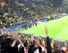Response from Monaco to Borussia Dortmund fans after attack