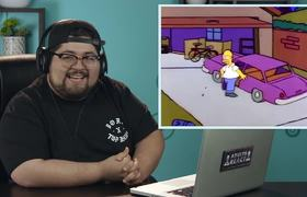 ADULTS REACT TO THE SIMPSONS IN THE 30th ANNIVERSARY