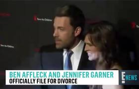 Ben Affleck & Jennifer Garner Officially File for Divorce