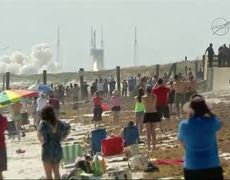 Resupply Mission on Way to ISS
