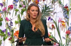 Blake Lively Gives Emotional Speech on Child Pornography