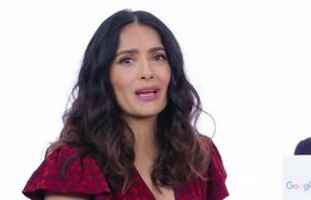 Salma Hayek anf Eugenio Derbez Answer the Web's Most Searched Questions