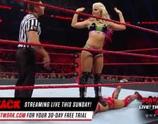 Raw WWE: Sasha Banks vs. Alexa Bliss