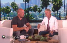 The Ellen Show: VIN DIESEL Talking KISS With CHARLIZE THERON {STORY BEHIND KISS}