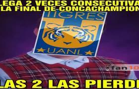 Tigres Llora - Pachuca vs Tigres 1-0 Final Concacaf Pachuca Campeón