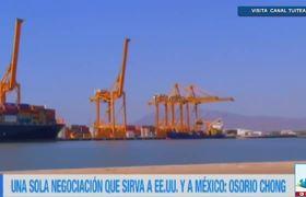 Osorio Chong pide una sola negociación del TLCAN que sirva a EU y México
