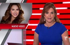 Ninel Conde grabó video con Fidel Rueda