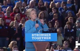 Clinton culpa al FBI y WikiLeaks de su derrota electoral