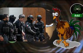 Imagen exclusiva de 'El pollo', lugarteniente de 'El Licenciado' al momento de 'infartarse'