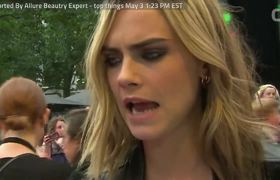 Cara Delevingne Has Message On Beauty