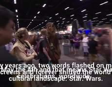 Fans Celebrate 40 Years Of Star Wars