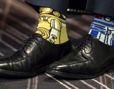 Justin Trudeau Shows Off Star Wars Socks