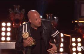 """MTV Movie & TV Awards: """"Fast & Furious"""" Cast MTV Generation Award"""