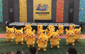 #VIRAL: Pikachu deflates on stage and mobilizes a security corps
