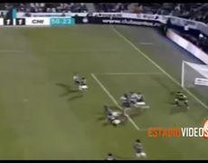 Santos vs Chivas 1 1 Autogol de Israel Castro 312014