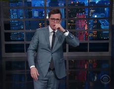 The Late Show: A Lesson In Prepositions Brought To You By Sean Spicer's Bushes