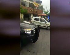 Detienen a presunto ladrón de coches en Toluca.