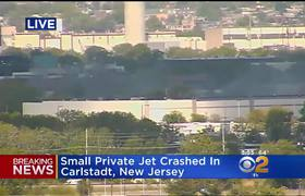 #BreakingNews: Small Plane Crashes On Approach To New Jersey's Teterboro Airport