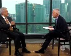AMLO en entrevista con Jorge Ramos