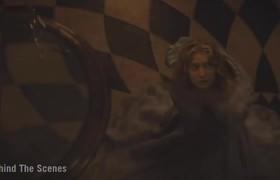 Alicia en el país de las maravillas - Detrás de cámaras