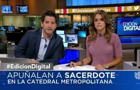 Apuñalan a sacerdote que oficiaba una misa en la Catedral Metropolitana en Cd de México