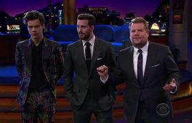 The Late Late Show: Flinch with Harry Styles & Aaron Taylor-Johnson