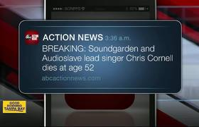 'Soundgarden' and 'Audioslave' lead singer Chris Cornell dies