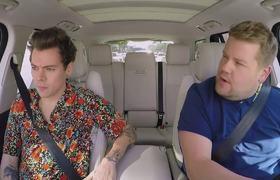 The Late Late Show. Harry Styles Carpool Karaoke