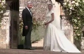 Pippa Middleton gets married in a lavish ceremony
