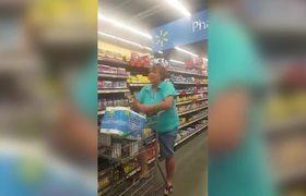 Woman Goes On Racist Rant in Arkansas Walmart