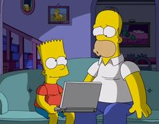 The Simpsons FatherSon Bonding from Steal This Episode