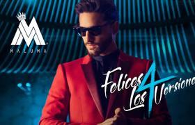 Maluma - Felices los 4 - Vesion Urban AUDIO