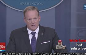 Sean Spicer Heated Exchange with CNN's Jim Acosta Over Fake News